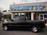 1998 Black Dodge Ram 1500 Laramie SLT Extended Cab #36856848
