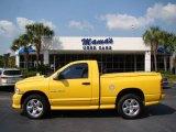 2004 Solar Yellow Dodge Ram 1500 Rumble Bee Regular Cab 4x4 #36856854