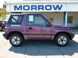 1997 Super Grape Metallic Geo Tracker Soft Top 4x4 #36856515