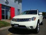 2007 Glacier Pearl White Nissan Murano SL AWD #36856872