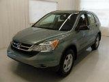 2010 Opal Sage Metallic Honda CR-V LX #36857272