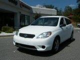 2007 Super White Toyota Matrix  #36856525