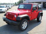 2011 Flame Red Jeep Wrangler Sport S 4x4 #36857280