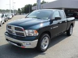 2011 Hunter Green Pearl Dodge Ram 1500 Big Horn Quad Cab 4x4 #36857287