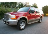 2001 Toreador Red Metallic Ford Excursion Limited 4x4 #36856904