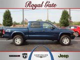 2004 Patriot Blue Pearl Dodge Dakota Sport Quad Cab 4x4 #36856253