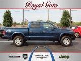 2004 Patriot Blue Pearl Dodge Dakota Sport Quad Cab 4x4 #36856253