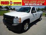 2008 Summit White Chevrolet Silverado 1500 Work Truck Regular Cab #36857336