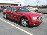 2008 Inferno Red Crystal Pearl Chrysler 300 C HEMI #36856946