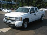 2011 Summit White Chevrolet Silverado 1500 LT Extended Cab #36857353