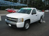 2008 Summit White Chevrolet Silverado 1500 Z71 Regular Cab 4x4 #36857358