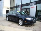 2008 Deep Sea Blue Pearl Effect Audi A4 2.0T quattro Sedan #36856640