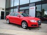 2008 Brilliant Red Audi A4 2.0T quattro Sedan #36856641