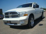 2009 Stone White Dodge Ram 1500 Big Horn Edition Quad Cab 4x4 #36856344