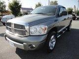 2007 Mineral Gray Metallic Dodge Ram 1500 Laramie Quad Cab #36856660