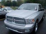 2011 Bright Silver Metallic Dodge Ram 1500 Big Horn Quad Cab 4x4 #36856368