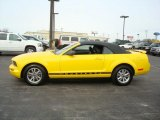 2005 Screaming Yellow Ford Mustang V6 Premium Convertible #3686763