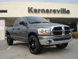 2006 Mineral Gray Metallic Dodge Ram 1500 SLT Quad Cab 4x4 #36857081