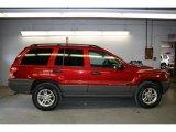 2002 Inferno Red Tinted Pearlcoat Jeep Grand Cherokee Laredo 4x4 #36857448