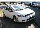 2007 Taffeta White Honda Civic EX Coupe #36856437
