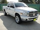 2008 Bright White Dodge Ram 1500 Lone Star Edition Quad Cab #36856711