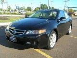 2008 Nighthawk Black Pearl Acura TSX Sedan #36857506
