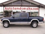 2004 Patriot Blue Pearl Dodge Dakota SLT Quad Cab 4x4 #36856739