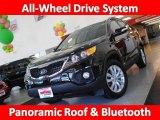 2011 Ebony Black Kia Sorento EX V6 AWD #36963128