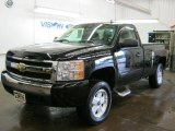 2008 Black Chevrolet Silverado 1500 LT Regular Cab 4x4 #36963987