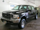 2004 Black Ford F250 Super Duty FX4 Crew Cab 4x4 #36963988