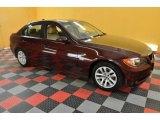 2007 Barrique Red Metallic BMW 3 Series 328xi Sedan #36963512