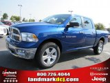 2011 Deep Water Blue Pearl Dodge Ram 1500 Big Horn Crew Cab #36963175