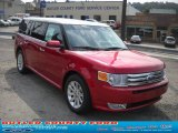 2010 Red Candy Metallic Ford Flex SEL AWD #36963194