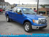 2010 Blue Flame Metallic Ford F150 XLT SuperCab 4x4 #36963203