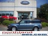 2010 Steel Blue Metallic Ford Flex SEL AWD #36962939