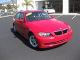 2008 Crimson Red BMW 3 Series 328i Sedan #36962975
