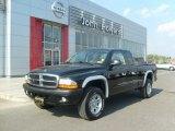 2004 Black Dodge Dakota Sport Club Cab 4x4 #36963739