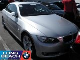 2008 Titanium Silver Metallic BMW 3 Series 335i Convertible #37033322
