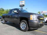 2011 Taupe Gray Metallic Chevrolet Silverado 1500 LS Extended Cab #37033327