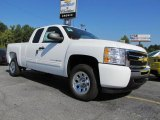2011 Summit White Chevrolet Silverado 1500 LS Extended Cab #37033330