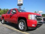 2011 Victory Red Chevrolet Silverado 1500 LT Crew Cab #37033331