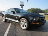 2007 Black Ford Mustang V6 Premium Coupe #37033340