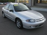 2003 Ultra Silver Metallic Chevrolet Cavalier LS Sedan #37033423