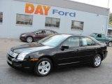 2008 Black Ebony Ford Fusion SE #37033090