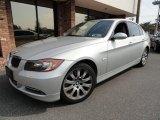 2007 Titanium Silver Metallic BMW 3 Series 335xi Sedan #37033113