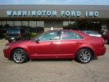 2007 Vivid Red Metallic Lincoln MKZ AWD Sedan #37033447
