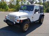 2006 Stone White Jeep Wrangler Sport 4x4 Golden Eagle #37033800