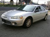 2002 Brilliant Silver Metallic Chrysler Sebring LX Sedan #37033450