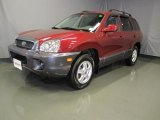 2004 Merlot Red Hyundai Santa Fe  #37033453