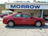 2010 Sangria Red Metallic Ford Fusion SEL #37033133